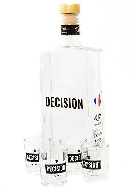 Decision : une vodka française s'installe dans les bars