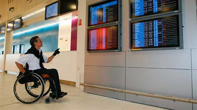 air france réduction carte d invalidité Saphir, le service d'Air France dédié aux passagers handicapés ou