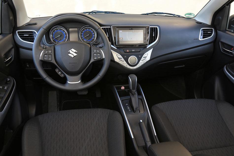 Suzuki Baleno, intérieur