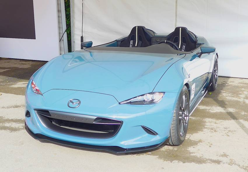Goodwood : Mazda prend ses marques au Festival of Speed