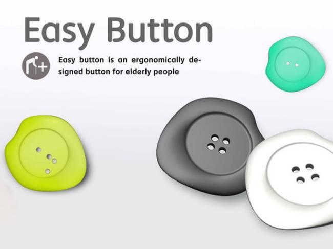 L'Easy button facilite le boutonnage des vêtements pour les ainés