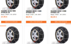 Autobac : plus de 250 références de chaines neige en stock