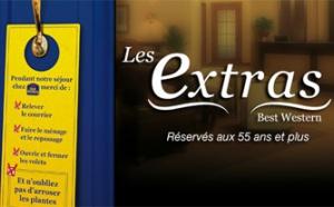 Les Extras : la chaîne d'hôtels Best Western propose une offre « senior » hôtellerie et services à la personne