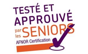 """""""Testé et approuvé par les seniors"""" : le nouveau label de l'Afnor !"""