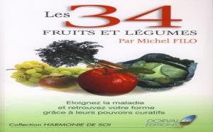34 fruits et légumes pour conserver la santé (livre)