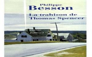 La trahison de Thomas Spencer de Philippe Besson : la fiancée du Pilate
