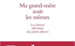 Ma grand-mère avait les mêmes de Philippe Delerm : l'amas de laine de Proust