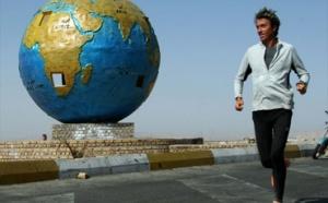 Serge Girard, 56 ans est parti pour un tour d'Europe en 365 jours… en courant !