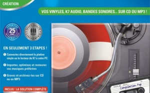 Une solution complète pour sauvez vos vinyles et K7 audio