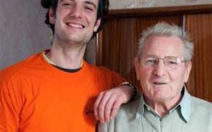 Service civique et solidarité intergénérationnelle : Quand Robert 87 ans et Benoit, 24 ans se rencontrent…