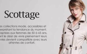 Scottage lance son site Internet marchand dédié aux femmes de 50 ans et plus : scottage.fr