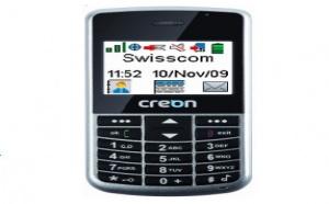 Creon M300 : un téléphone senior labellisé Swiss Made