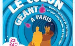 Cancer du colon, Paris, 22-24 mars 2011 : un côlon géant pour mieux comprendre la maladie