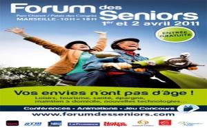Marseille : 3ème Forum des seniors les 1er et 2 avril 2011