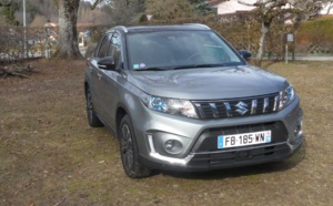 Suzuki Nouveau Vitara 1,4 Boosterjet Allgrip : le compagnon idéal des montagnards
