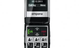 Emporia Click : un nouveau mobile senior design et aux fonctionnalités innovantes