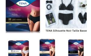 Tena Silhouette noir : culotte absorbante, comme un vrai sous-vêtement !