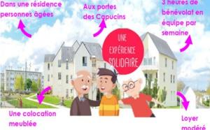 Lauréat concours Villes Amies des Ainés 2019 : colloc' intergénérationnelle à Brest