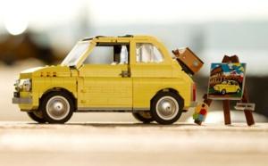 Lego Creator Expert : au tour de la Fiat 500, version vintage