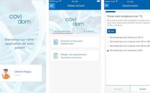 Covidom : l'appli pour un télésuivi des patients porteurs ou suspectés de Covid-19