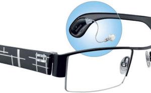 Audiovisuelles : les premières lunettes auditives à branches interchangeables