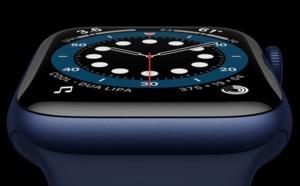 Apple Watch Series 6 : elle mesure les niveaux d'oxygène dans le sang