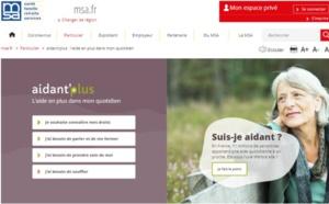 Aidant'plus : le guide en ligne de la MSA pour informer et orienter les aidants