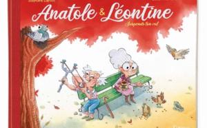 Anatole & Léontine : une nouvelle BD en maison de retraite de Lapuss' et Julien Flamand