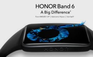 Honor Band 6 : écran plus grand et suivi de la santé pour 49,90 euros