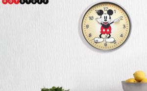Les passionnés de Mickey Mouse vont adorer cette horloge murale Echo
