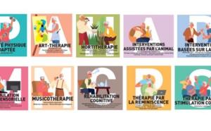 Interventions non médicamenteuses et Alzheimer : une guide et des fiches pour tout comprendre
