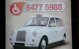 Singapour : WAT, des taxis pour personnes en fauteuils-roulants