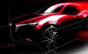 Le nouveau Mazda CX 3 au salon de Los Angeles