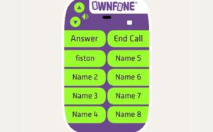 Ownfone : un mobile personnalisable pour personnes âgées