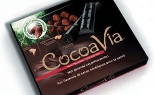 Cocoavia, une barre de chocolat noir bonne pour la circulation sanguine