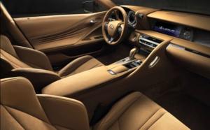 LC 500 : le nouveau coupé Lexus présenté à Detroit