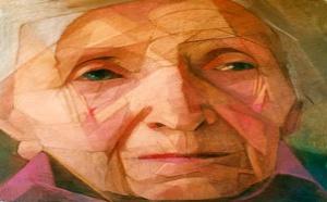 Emmanuelle Pérat, artiste-peintre, rend hommage à sa grand-mère en peinture