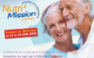 4ème semaine international de la dénutrition des seniors : une édition consacrée à Alzheimer