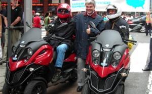 Deux seniors américains traversent les Etats-Unis en scooters