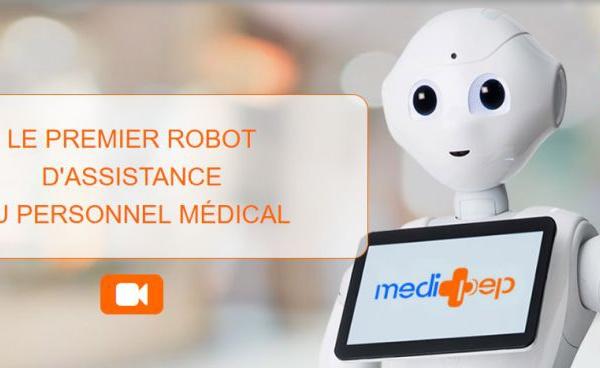 Medi'Pep : un robot au service des seniors dépendants