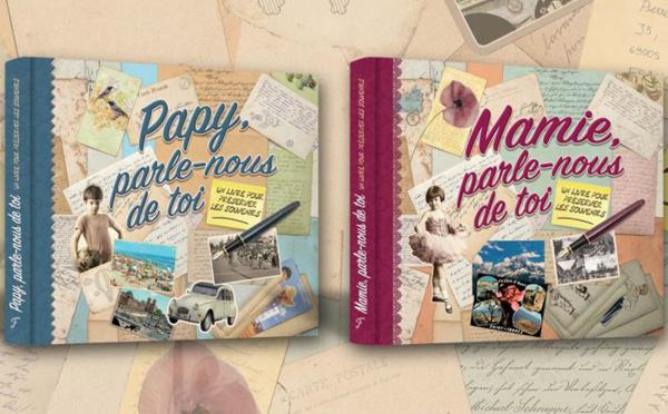 Papy ou Mamie parle-nous de toi : livre de mémoires