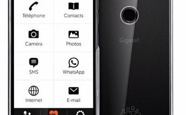 Gigaset GS195 LS : un nouveau smartphone pour seniors