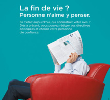Campagne de communication : la fin de vie, si on en parlait ?