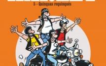 BD : sortie du 5ème tome de Je veux une Harley, les quinquas requinqués !