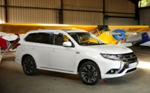 Outlander PHEV : le centenaire de Mitsubishi