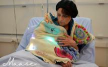 Maase : un plaid sensoriel pour l'accompagnement non médicamenteux des patients Alzheimer